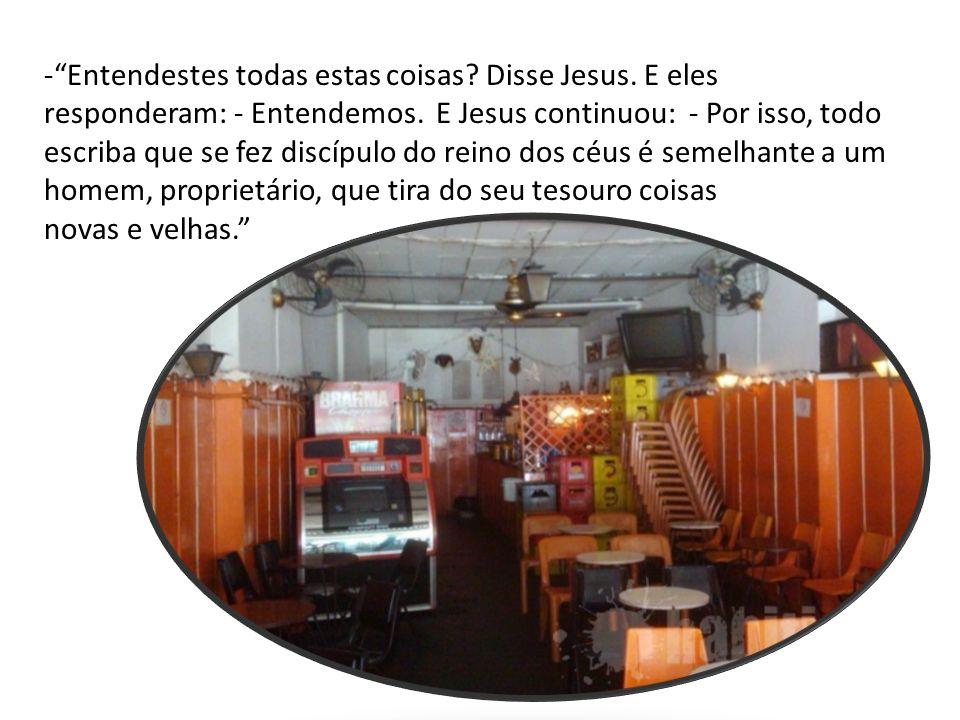 Jesus está falando do Reino de Deus e se apresenta como o doutor da sabedoria do Reino.