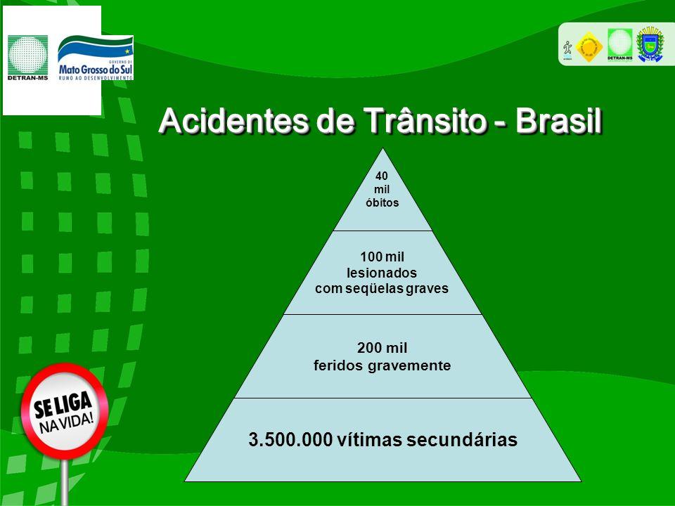 Fonte: CIPTRAN e Juizado do Trânsito (*) dados até Julho de 2011 Acidentes de Trânsito - Capital