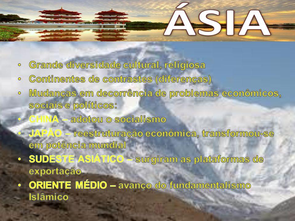 Agricultura (de subsistência): arroz, trigo, cana-de-açucar e algumas frutas.