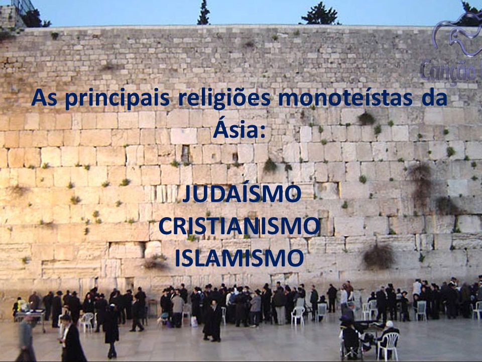 JUDAÍSMO Os ensinamentos são baseados na Torá (bíblia dos judeus) Velho Testamento.