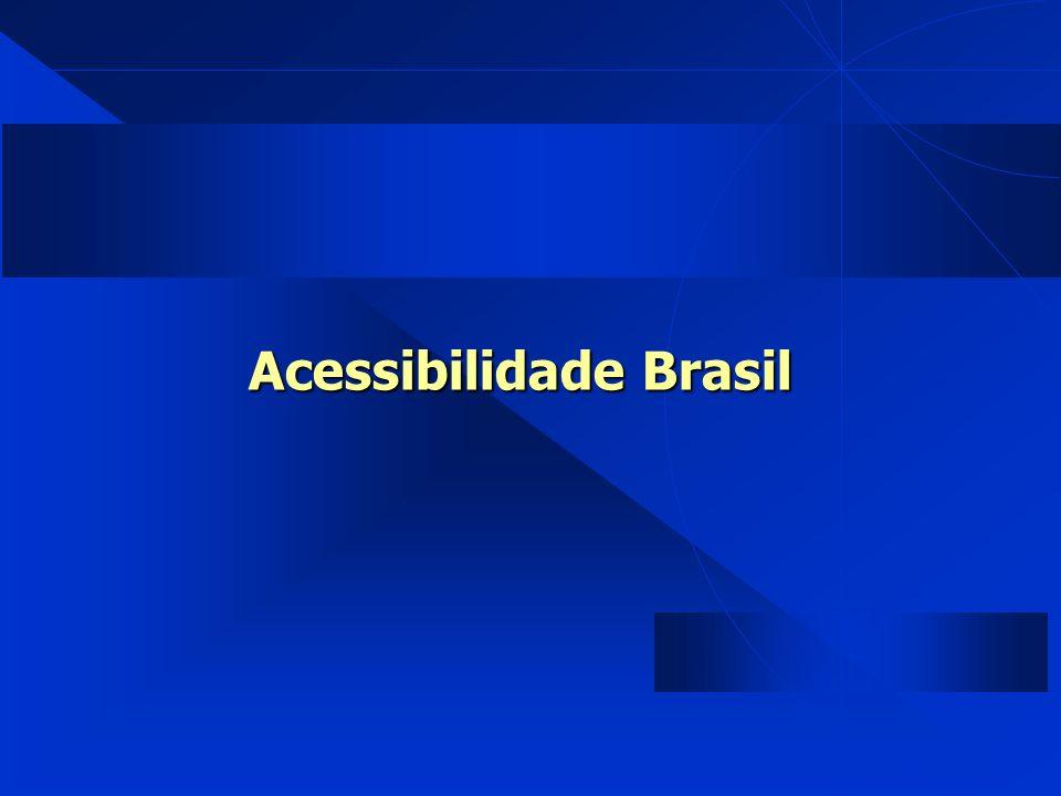Acessibilidade Brasil Acessibilidade Brasil