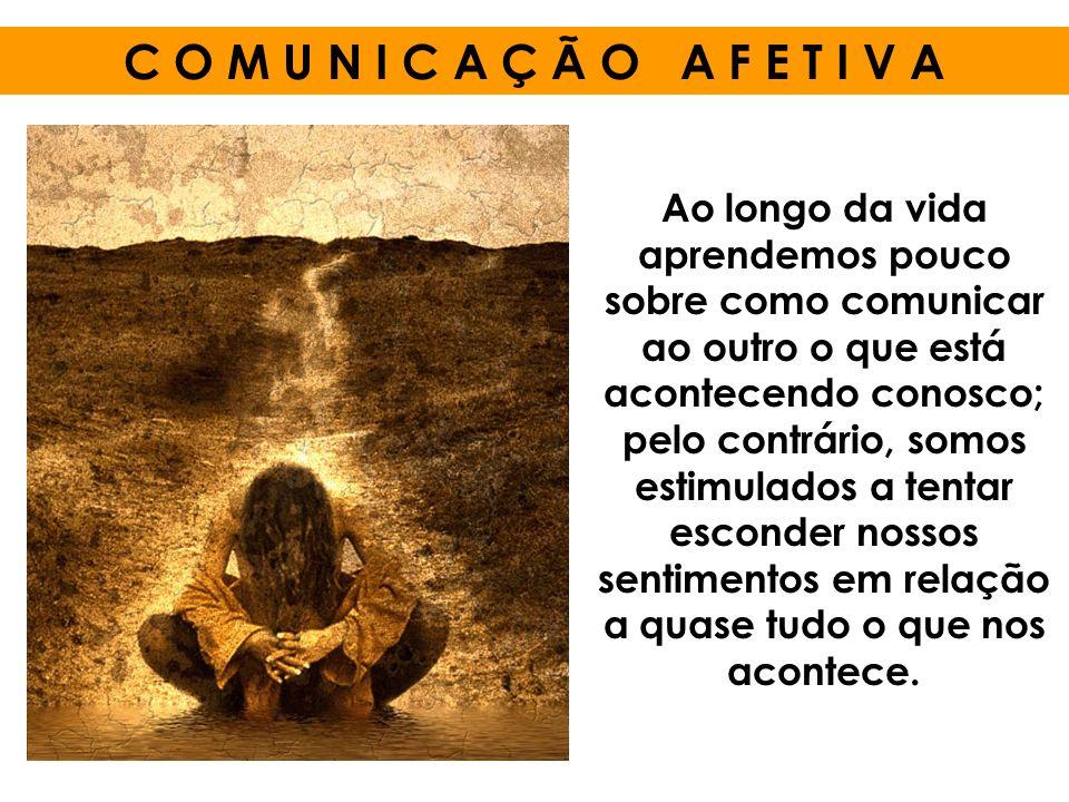 Ao longo da vida aprendemos pouco sobre como comunicar ao outro o que está acontecendo conosco; pelo contrário, somos estimulados a tentar esconder no