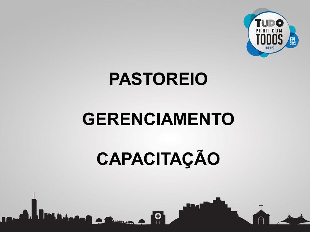 PASTOREIO GERENCIAMENTO CAPACITAÇÃO