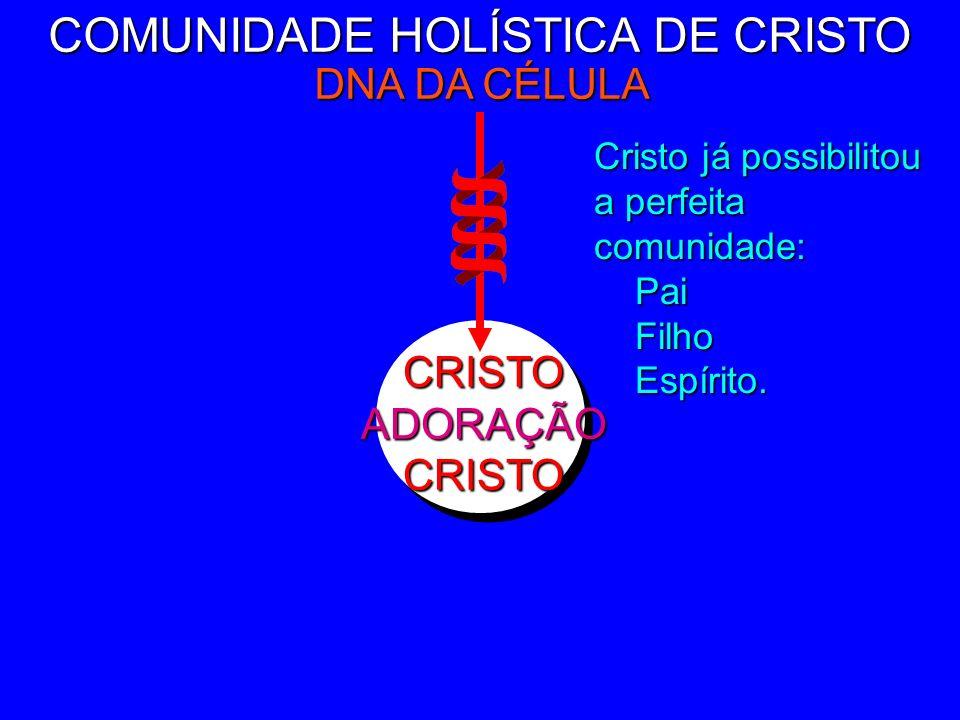 CRISTOADORAÇÃOCRISTO COMUNIDADE HOLÍSTICA DE CRISTO DNA DA CÉLULA