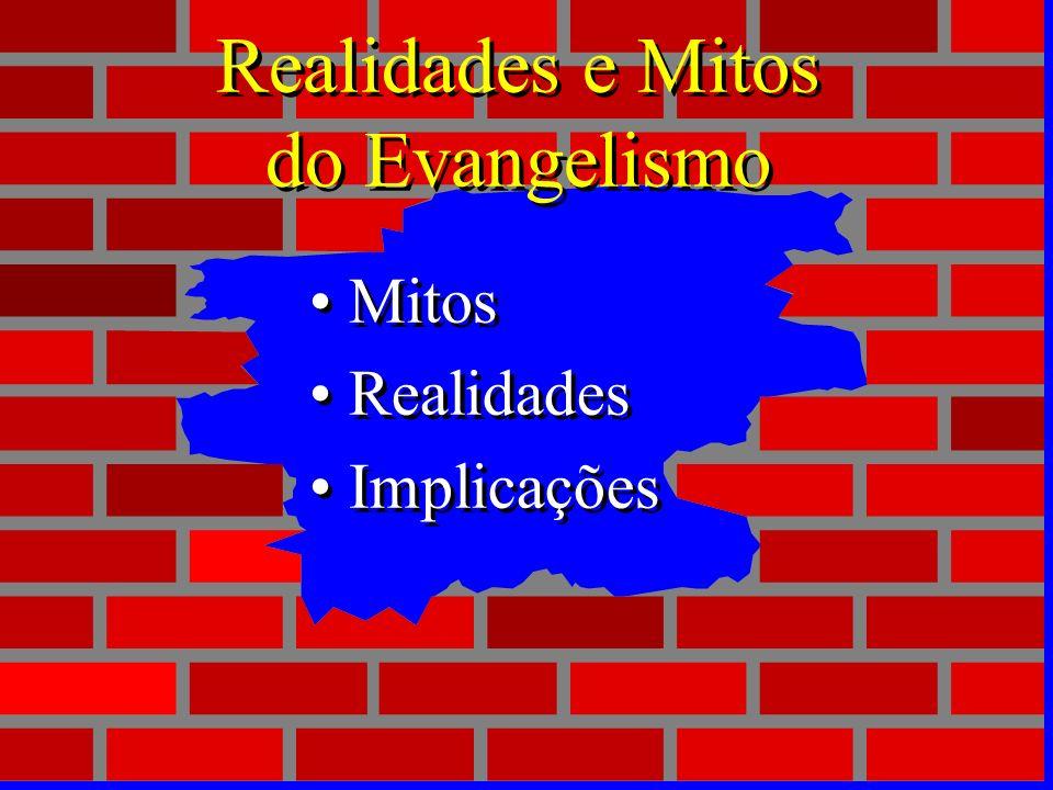 Mudando os paradigmas do evangelismo Mudar os paradigmas pode tornar possível o impossível! Falhas no passado muitas vezes acontece-ram em virtude de