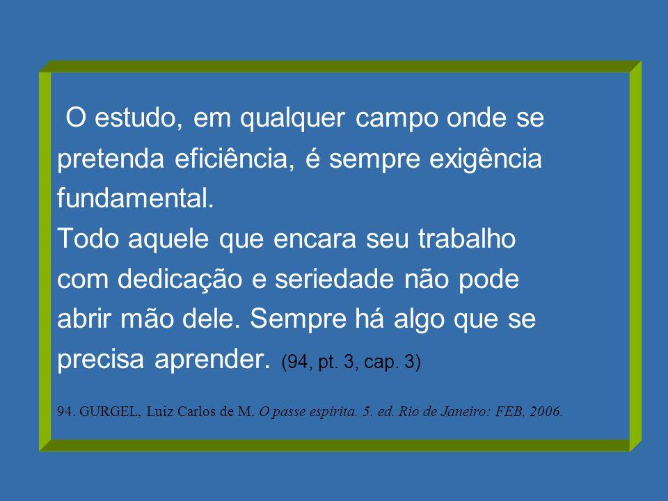 RECOMENDAÇÕES EMMANUEL (Estude e Viva, cap.