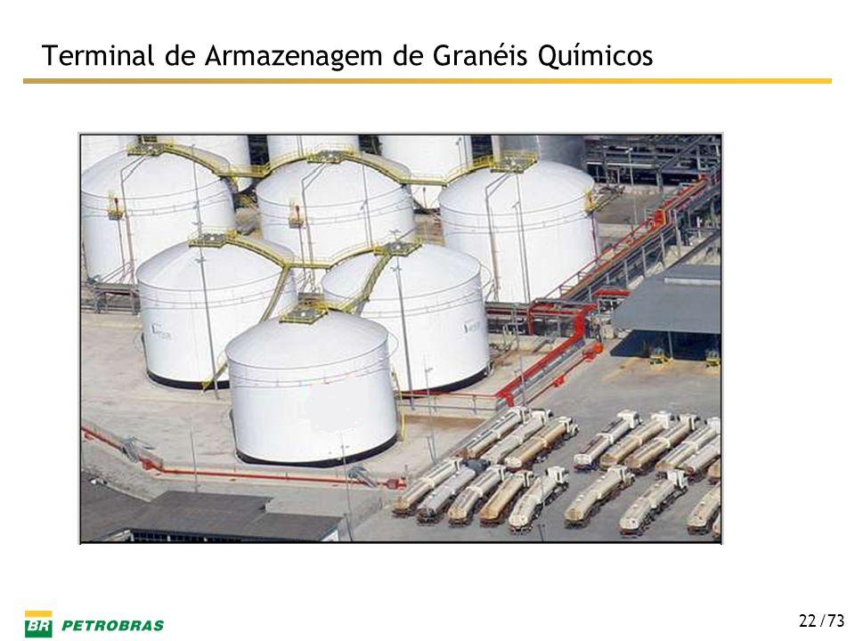 /73 22 Terminal de Armazenagem de Granéis Químicos
