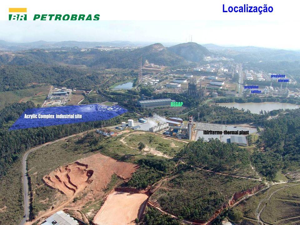 Gerência de Desenvolvimento e Estudos Logísticos Localização