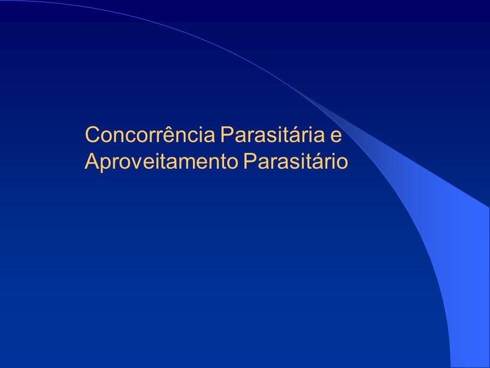 Concorrência Parasitária e Aproveitamento Parasitário