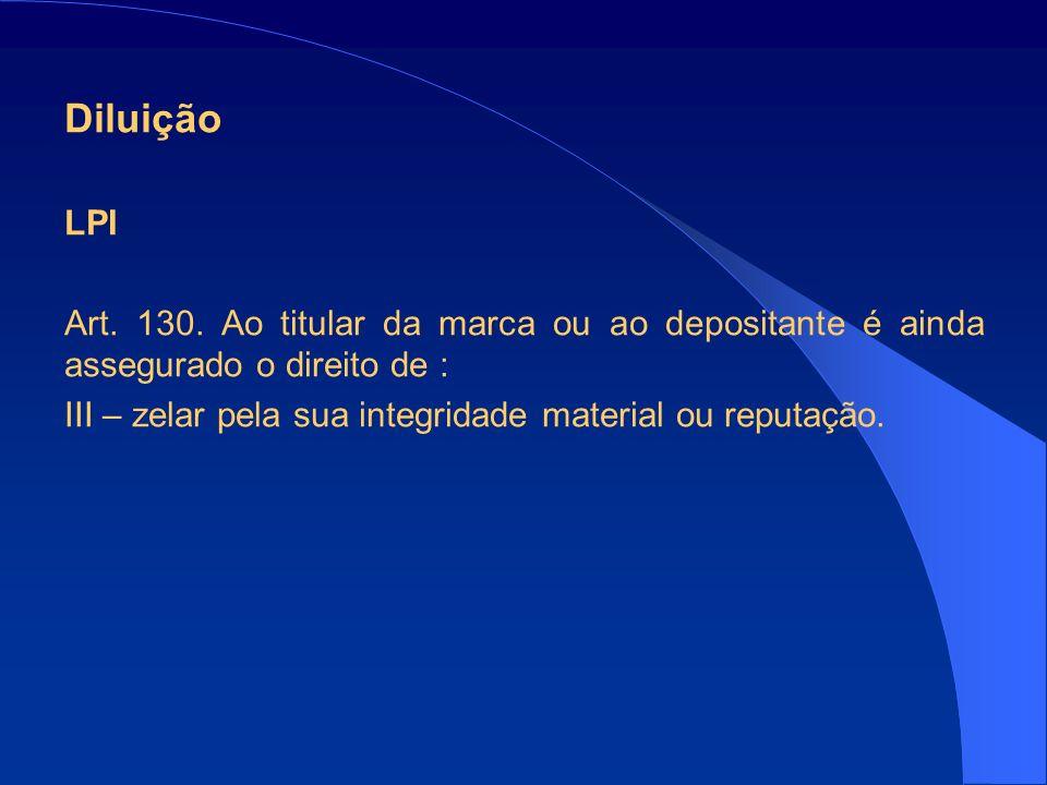 Diluição LPI Art.130.