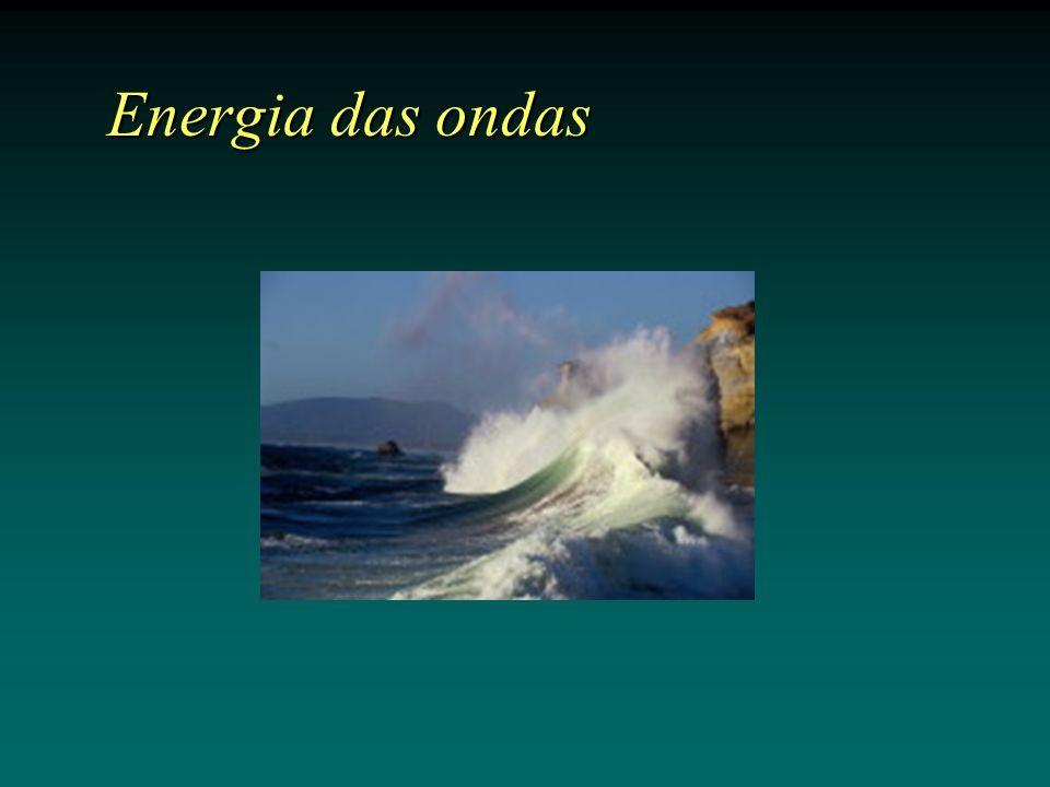 Energia das ondas