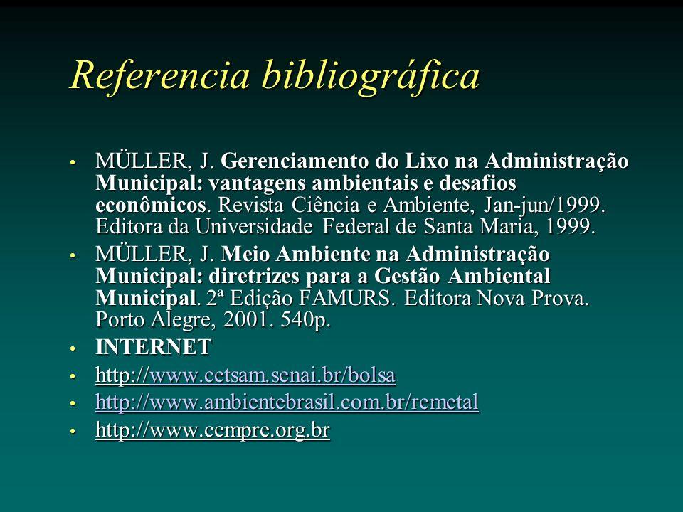 Referencia bibliográfica MÜLLER, J.