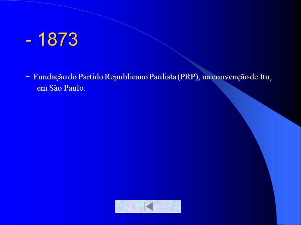- 1870 (mundo) Acontece a unificação italiana, com a integração dos diversos estados e reinos da península itálica.
