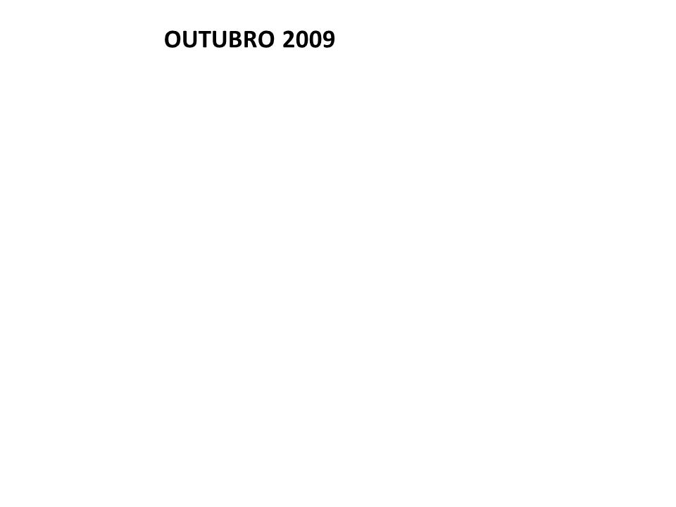 OUTUBRO 2009