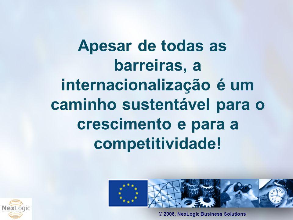 Apesar de todas as barreiras, a internacionalização é um caminho sustentável para o crescimento e para a competitividade!