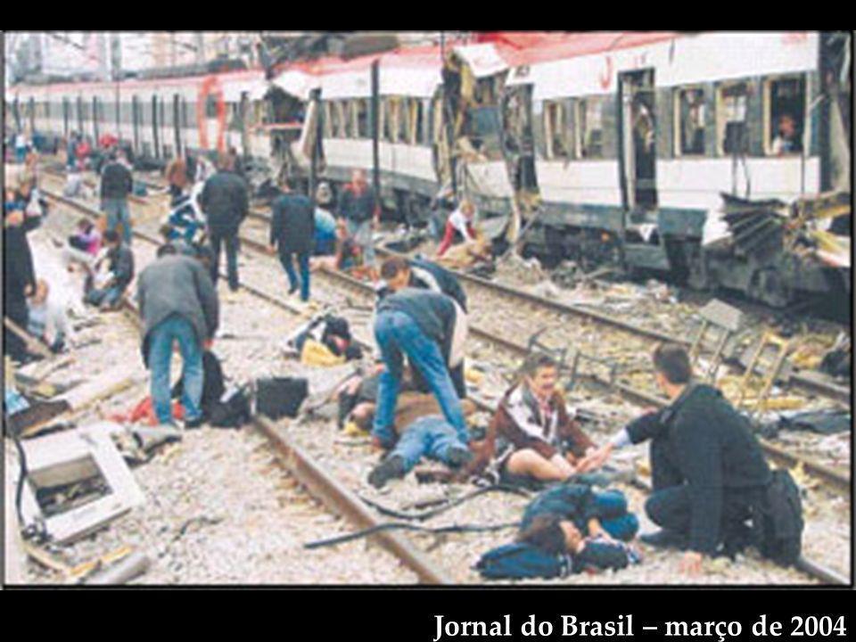 Jornal do Brasil – março de 2004