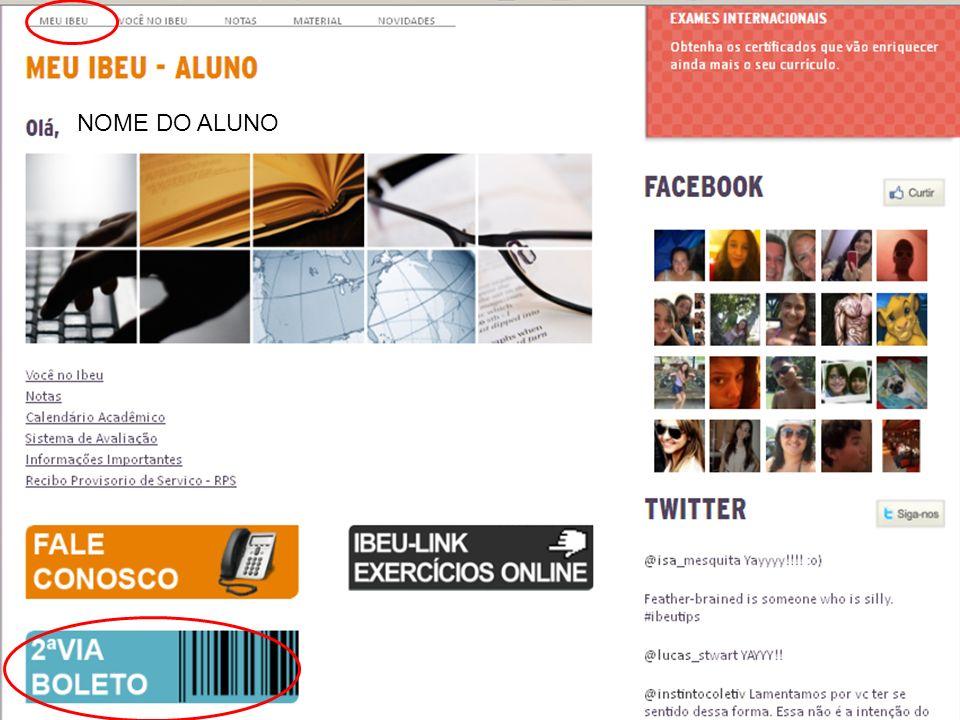 www.ibeu.org.br NOME DO ALUNO