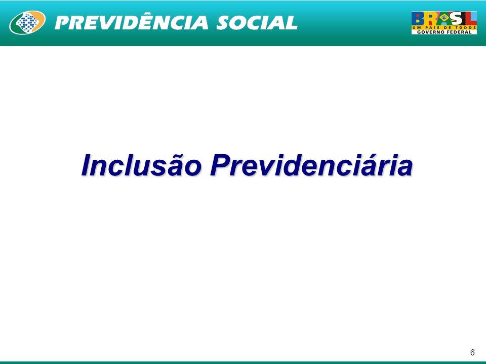 6 Inclusão Previdenciária