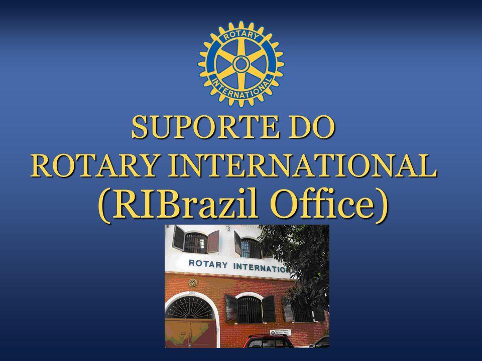 SUPORTE DO ROTARY INTERNATIONAL (RIBrazil Office)