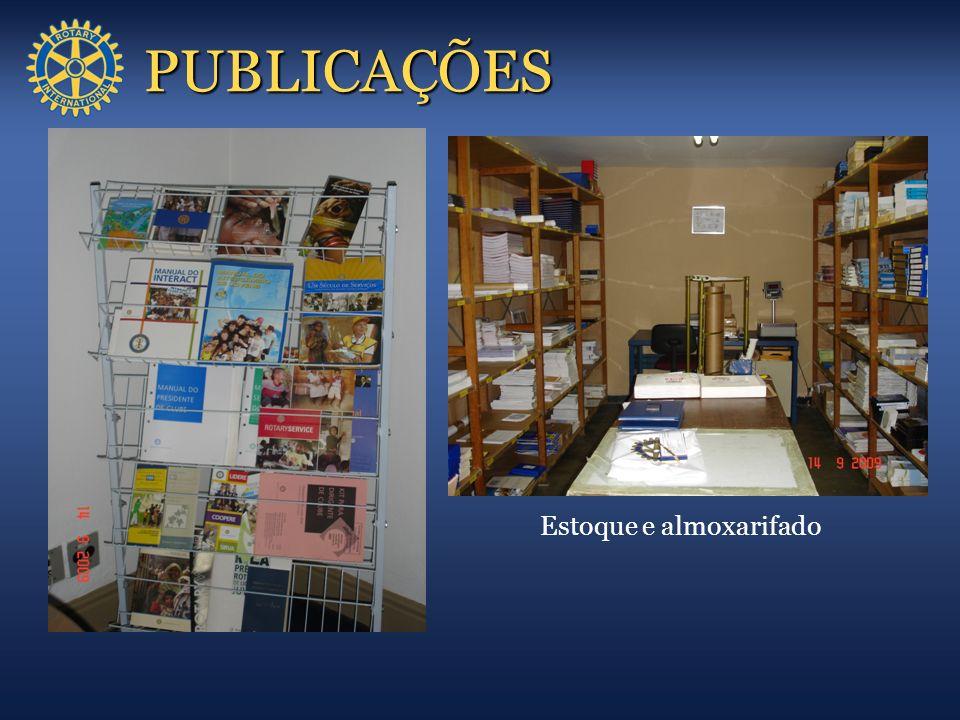 PUBLICAÇÕES Estoque e almoxarifado