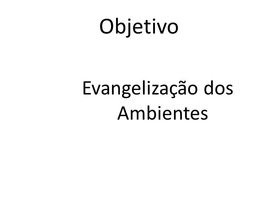 Objetivo Evangelização dos Ambientes