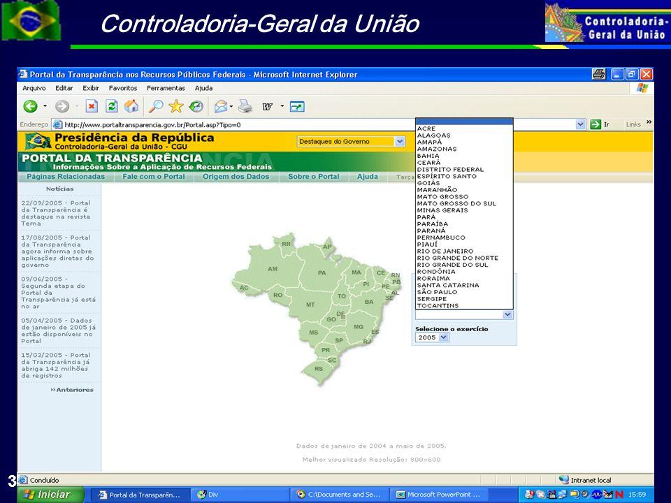 Controladoria-Geral da União 33