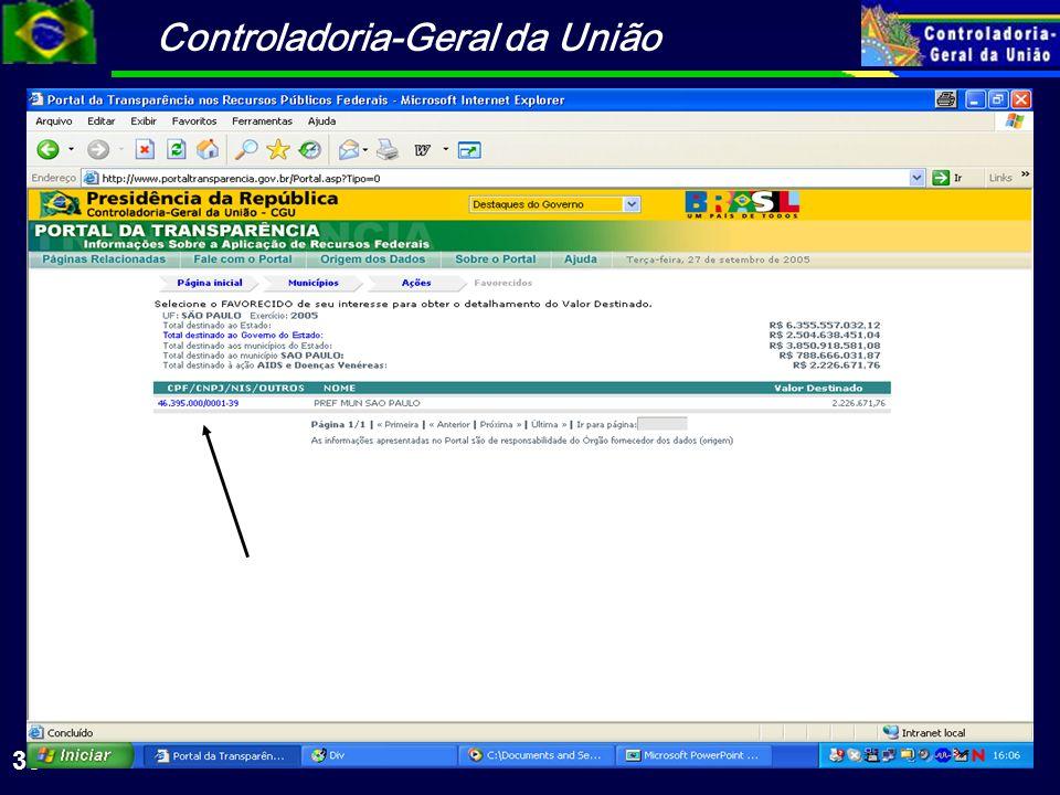 Controladoria-Geral da União 36