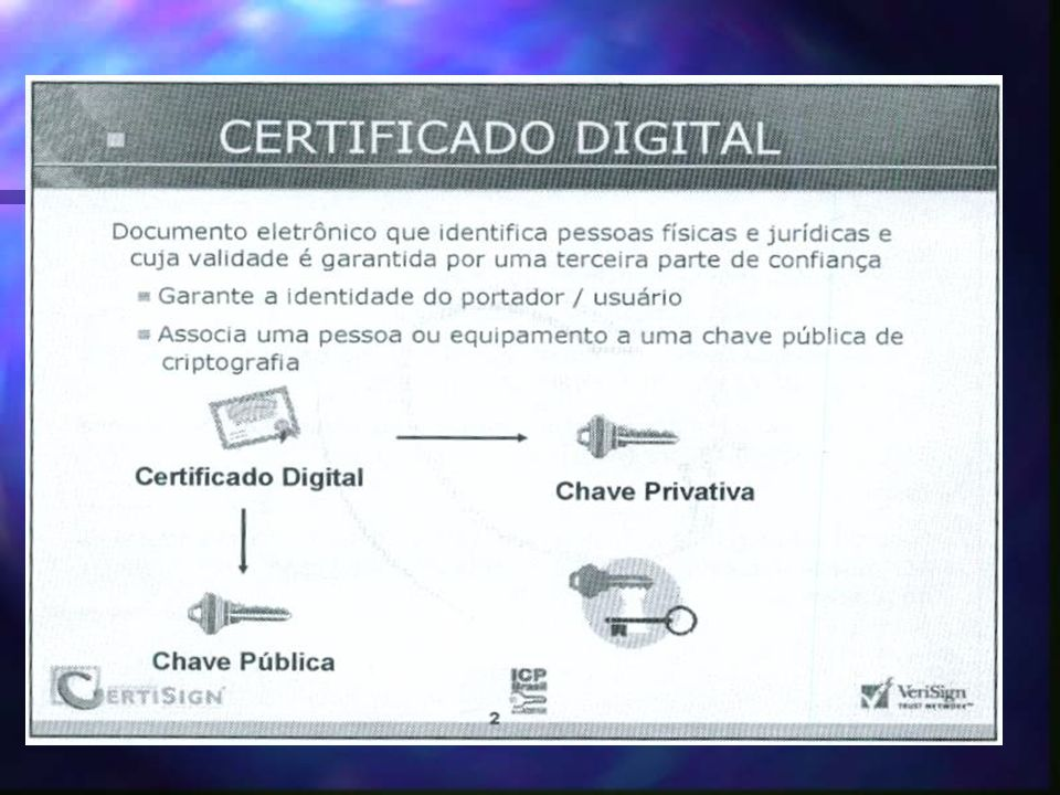 Incluir certificado digital