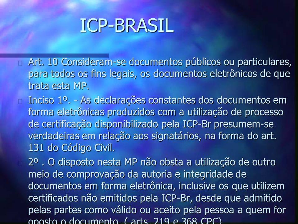 ICP-BRASIL n Art.