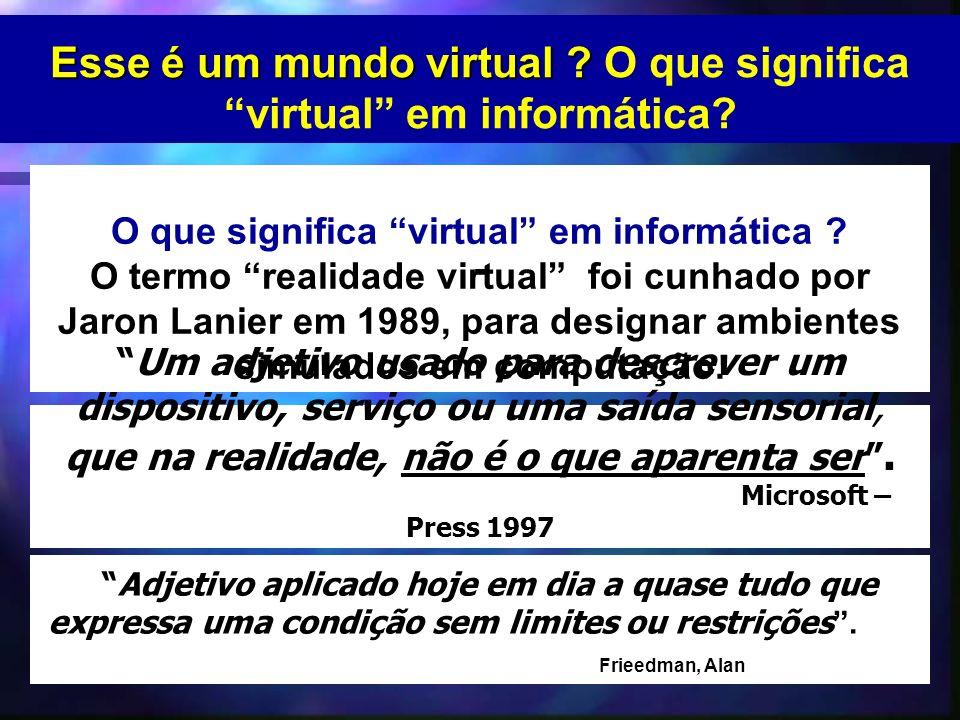 O que significa virtual em informática .