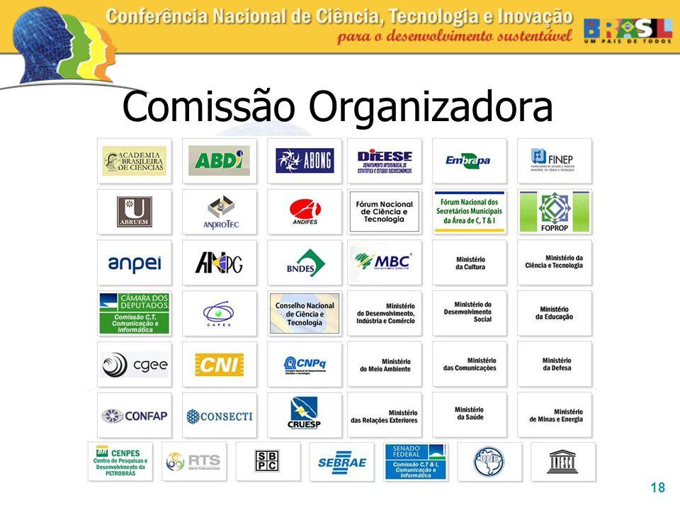 18 Comissão Organizadora