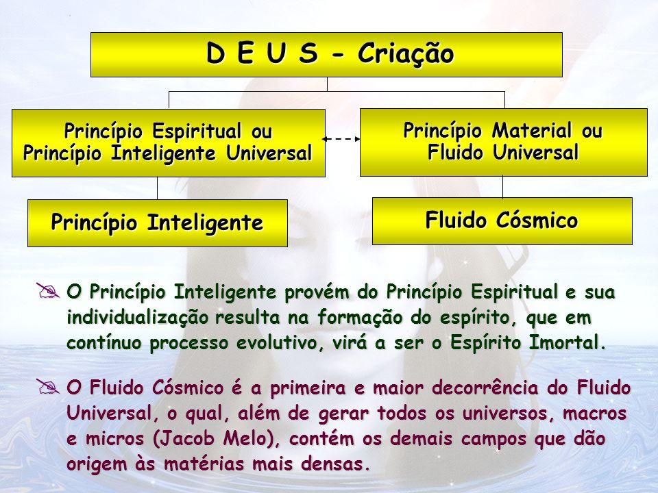 O Fluido Cósmico é a primeira e maior decorrência do Fluido Universal, o qual, além de gerar todos os universos, macros e micros (Jacob Melo), contém