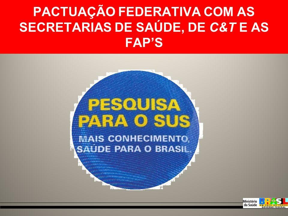 CGFPS Administrativo Coordenadora: Marge Tenório Coordenação Fomento Nacional Coordenadora: Viviane Cassia Pereira Coordenação Fomento Descentralizado
