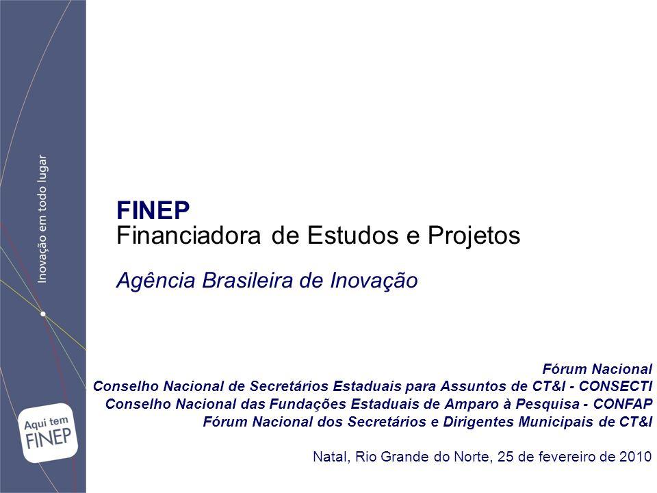 Fórum Nacional Conselho Nacional de Secretários Estaduais para Assuntos de CT&I - CONSECTI Conselho Nacional das Fundações Estaduais de Amparo à Pesqu