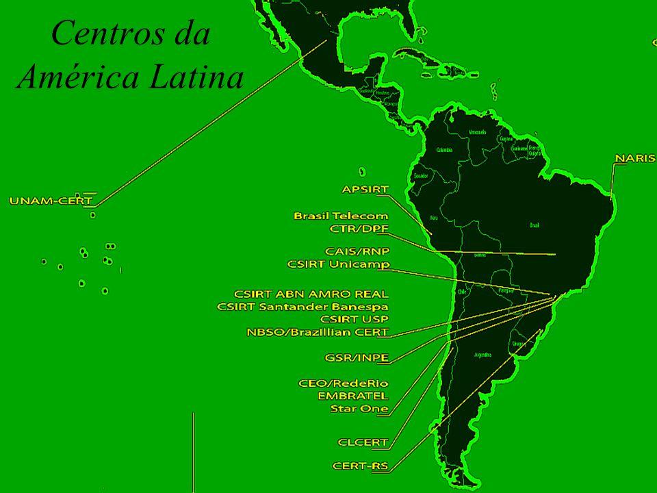 C T I R G o v Centros da América Latina