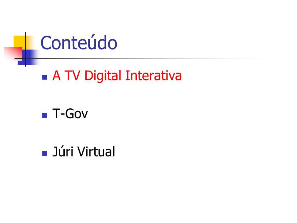 A TV Digital Interativa Transmissão digital.Qualidade de imagem.