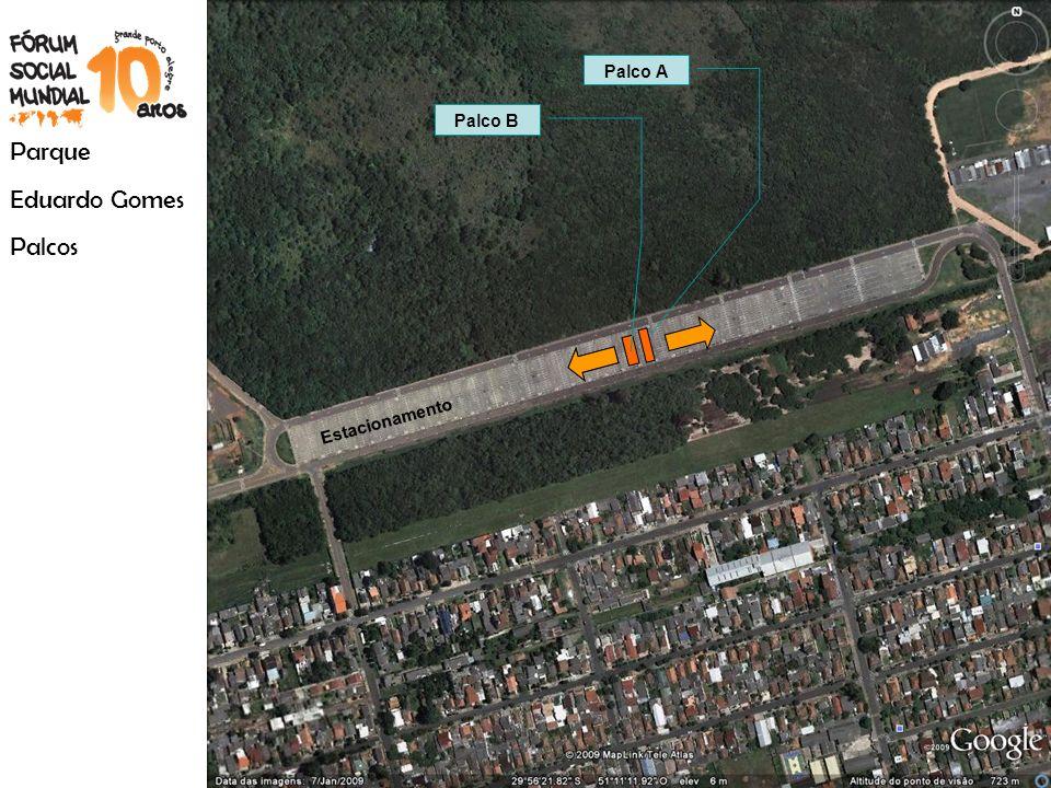 Parque Eduardo Gomes Palcos Palco B Palco A Estacionamento
