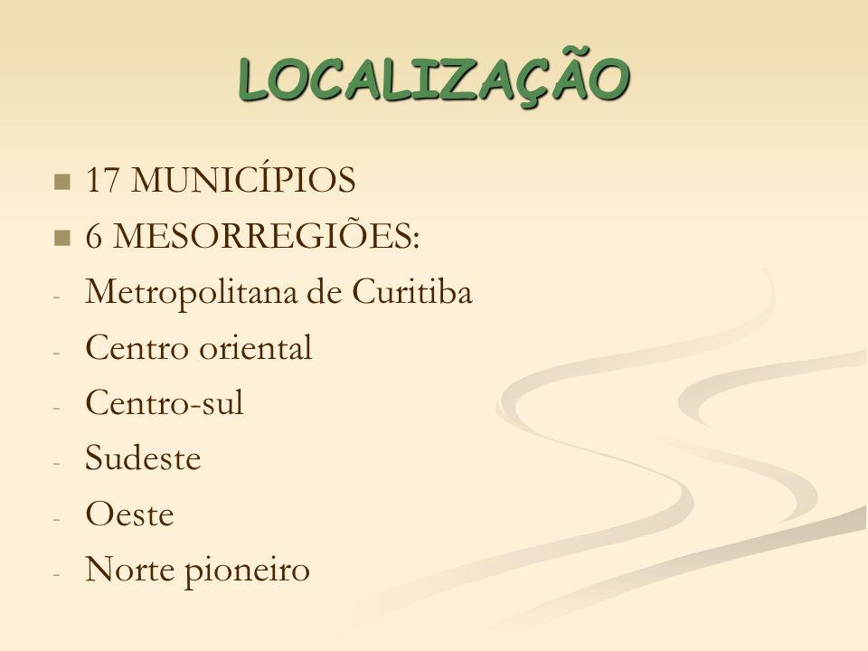 LOCALIZAÇÃO Metropolitana de Curitiba ADRIANÓPOLIS – 9: 1.