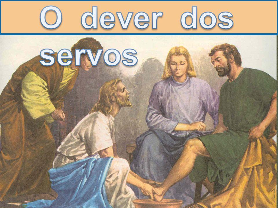 Jesus contou outra parábola: Façam de conta que um de vocês tem um empregado que trabalha na lavoura ou cuida das ovelhas.