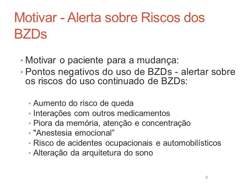 10 BZD e Sono POYARES, Dalva, PINTO JR, Luciano Ribeiro, TAVARES, Stella et al.