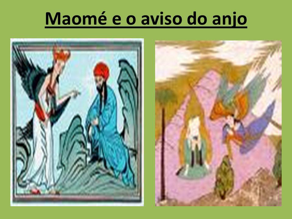 Maomé e o aviso do anjo
