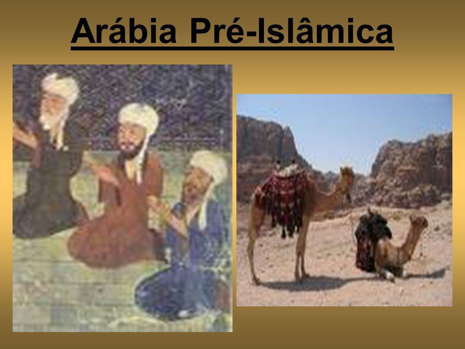 Expansão Árabe: O Império Muçulmano Califa (líder).