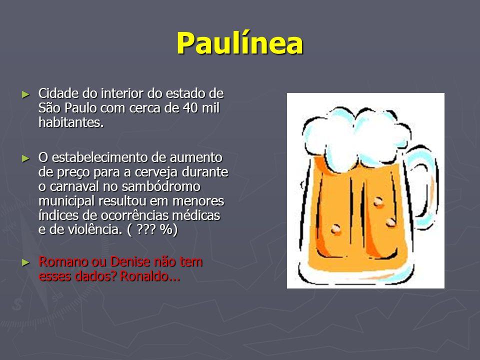 Paulínea Cidade do interior do estado de São Paulo com cerca de 40 mil habitantes. Cidade do interior do estado de São Paulo com cerca de 40 mil habit