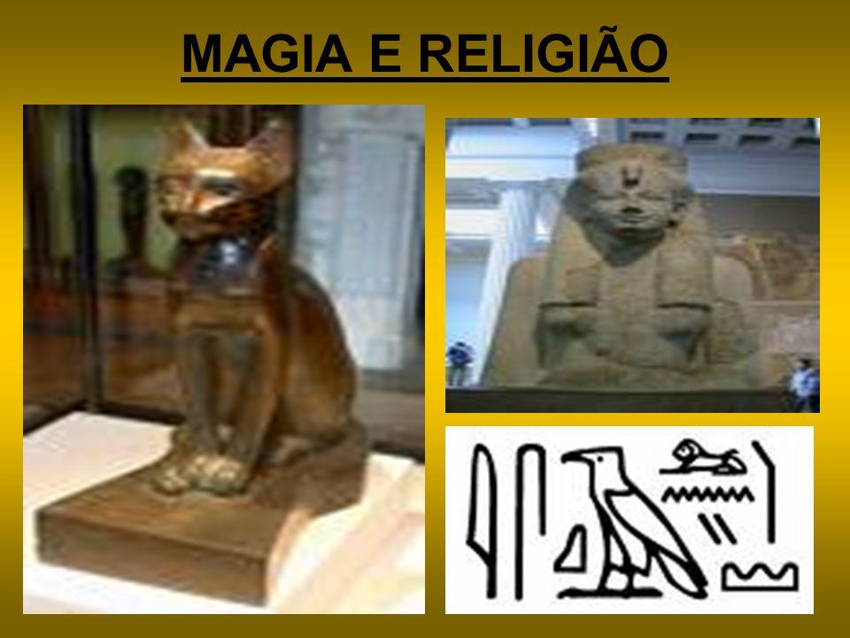 MAGIA E RELIGIÃO