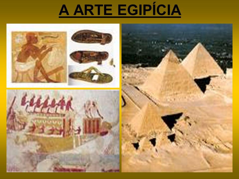 A ARTE EGIPÍCIA