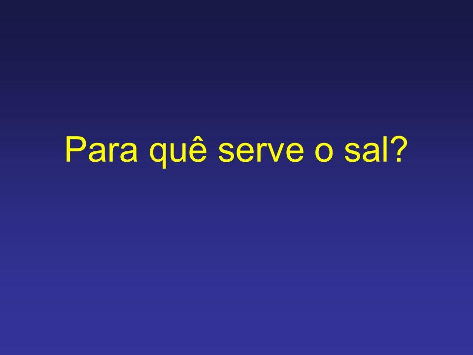 Sal: O sal é um composto iônico resultante da reação de um ácido e uma base.