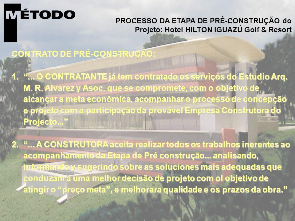6. Um caso prático... CONTRATO DE PRÉ-CONSTRUÇÃO: 1....