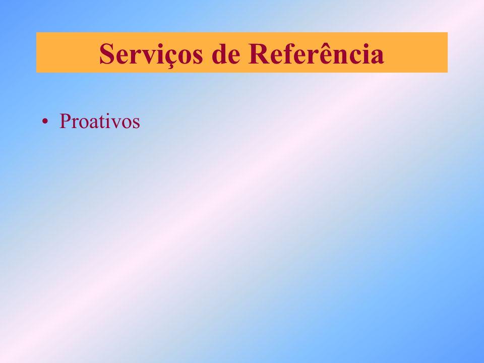 Serviços de Referência Proativos