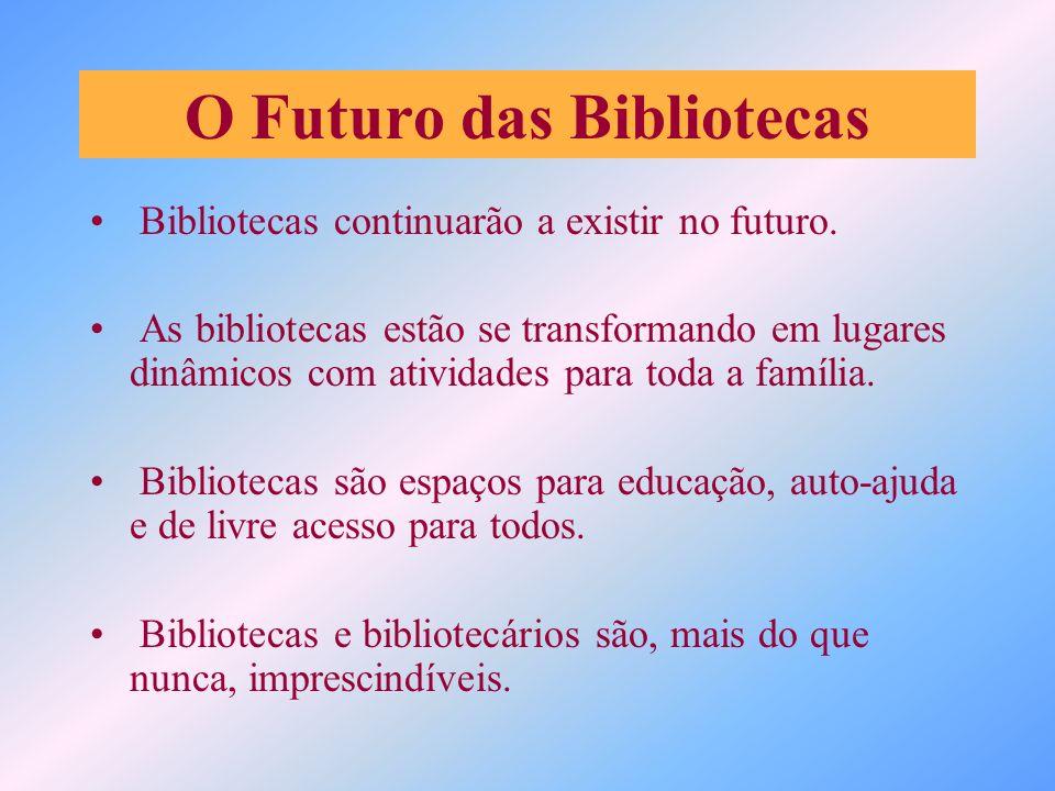 Serviço de Disseminação da Informação Intituições Acadêmicas –Universidades –Estudantes Bibliotecas Governamentais Bibliotecas Públicas – Jovens –Adultos –Aposentados