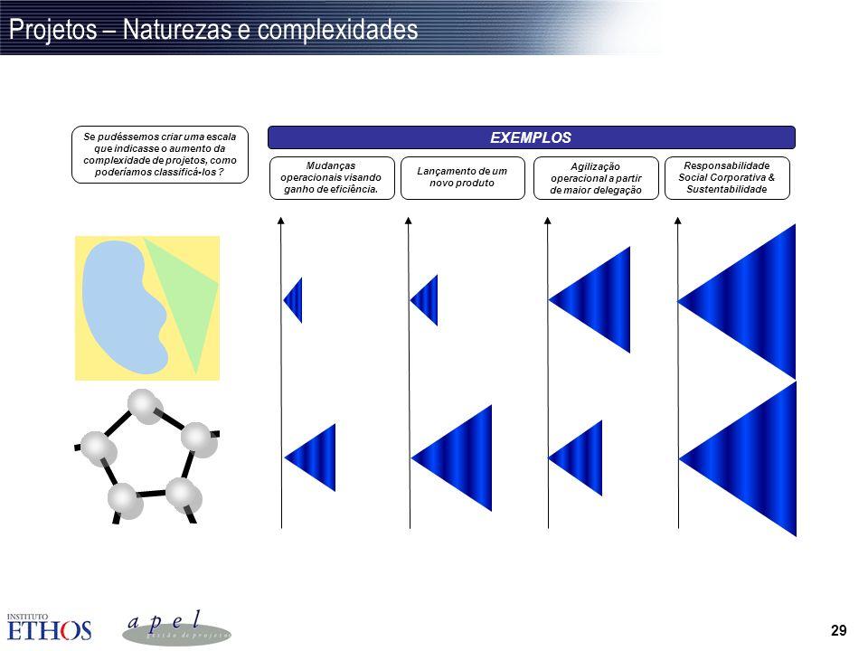 28 Análise de consistência e monitoramento de impactos Incorporar na matriz de gerenciamento a análise de consistência das atividades do projeto com o